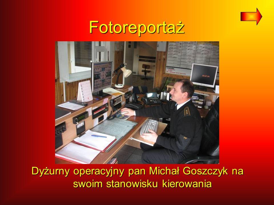 Fotoreportaż Wozy strażackie w KP PSP