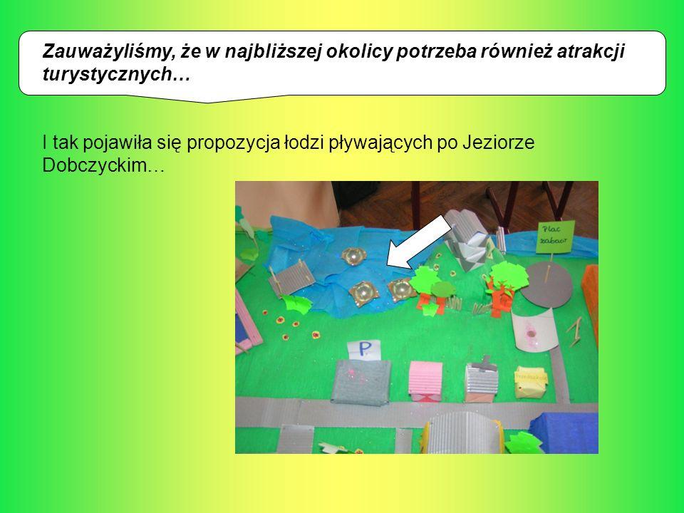 Zauważyliśmy, że w najbliższej okolicy potrzeba również atrakcji turystycznych… I tak pojawiła się propozycja łodzi pływających po Jeziorze Dobczyckim