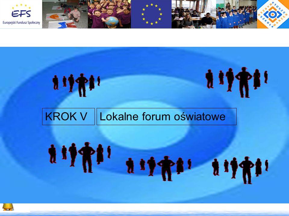 Lokalne forum oświatoweKROK V