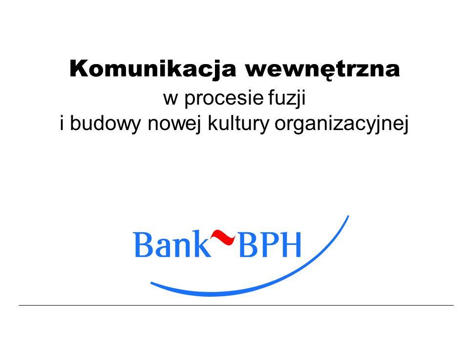 - 2 - Katarzyna Myśliwiec Departament Public Relations Krótko o Banku BPH Komunikacja w Banku BPH Kto, co, komu, jak.