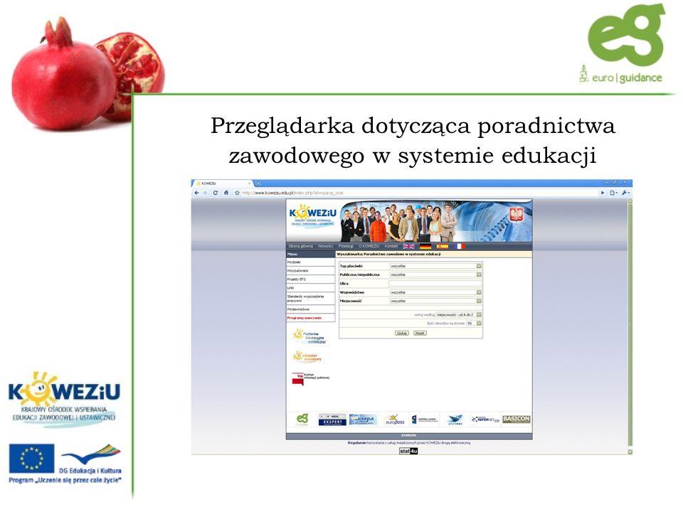Baza danych o możliwościach kształcenia wyższego w Polsce