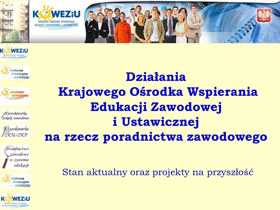 KOWEZiU jest centralną, publiczną placówką doskonalenia nauczycieli o ogólnopolskim zasięgu działania Organem prowadzącym KOWEZiU jest Minister Edukacji Narodowej www.koweziu.edu.pl
