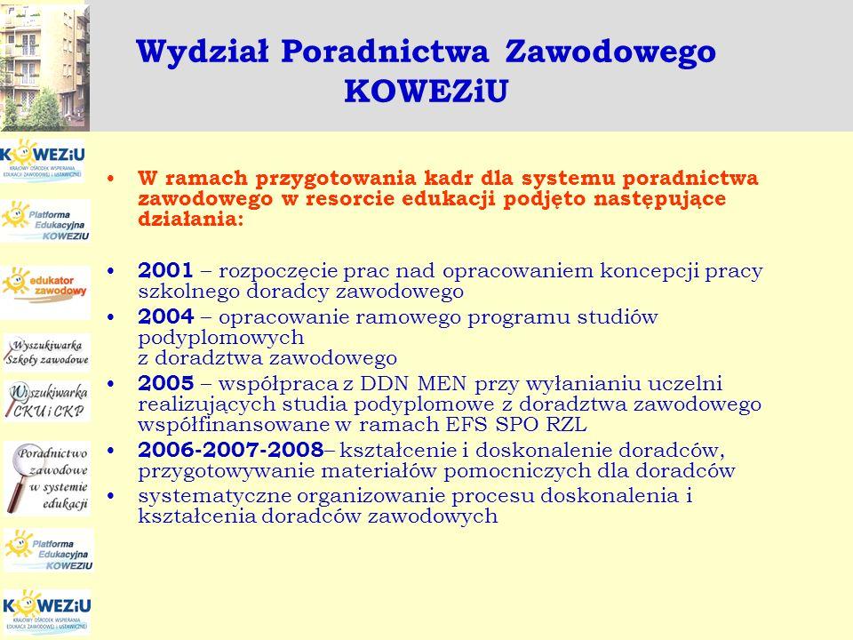 Euroguidance - Poland Zadania realizowane w ramach projektu Euroguidance w 2008 roku: organizacja seminariów, kursów, wspierających warsztat pracy doradców zawodowych, udział w seminariach, konferencjach krajowych – wymiana doświadczeń i wzajemne uczenie się na poziomie krajowym, udział w seminariach, konferencjach międzynarodowych – wymiana doświadczeń i wzajemne uczenie się na poziomie międzynarodowym, wydawanie i dystrybuowanie publikacji nt.