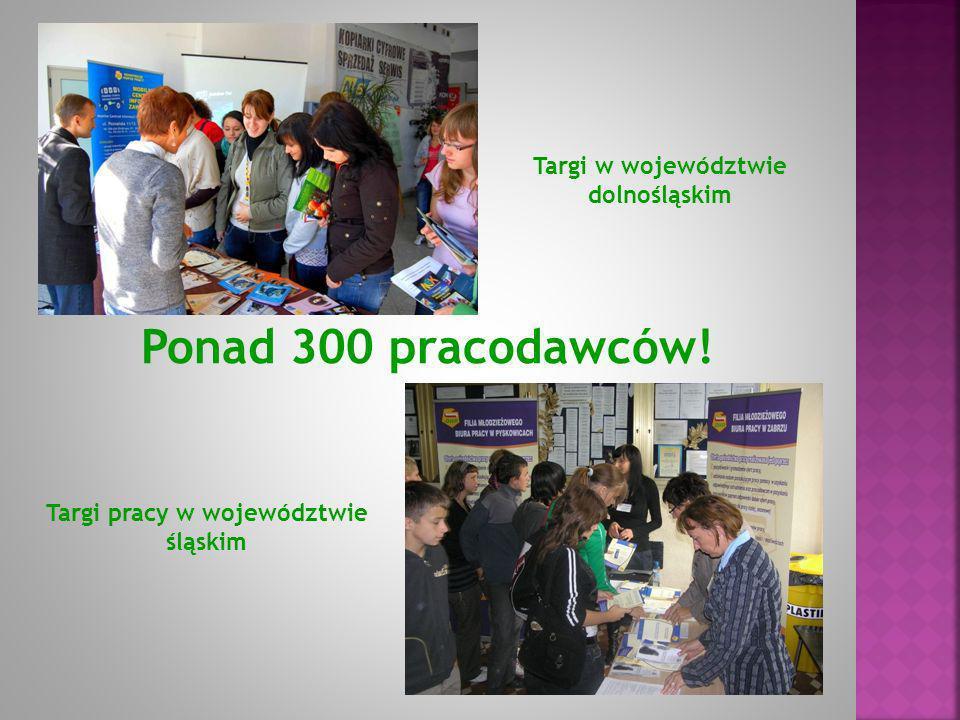 Targi w województwie dolnośląskim Targi pracy w województwie śląskim Ponad 300 pracodawców!