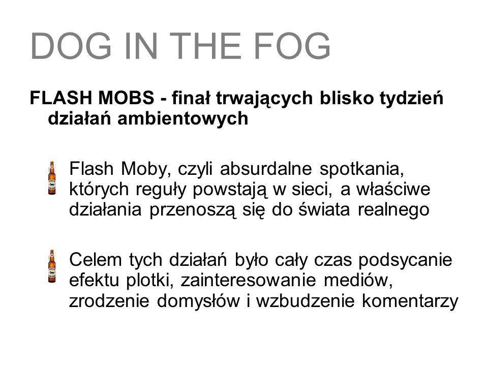 FLASH MOBS - finał trwających blisko tydzień działań ambientowych Flash Moby, czyli absurdalne spotkania, których reguły powstają w sieci, a właściwe