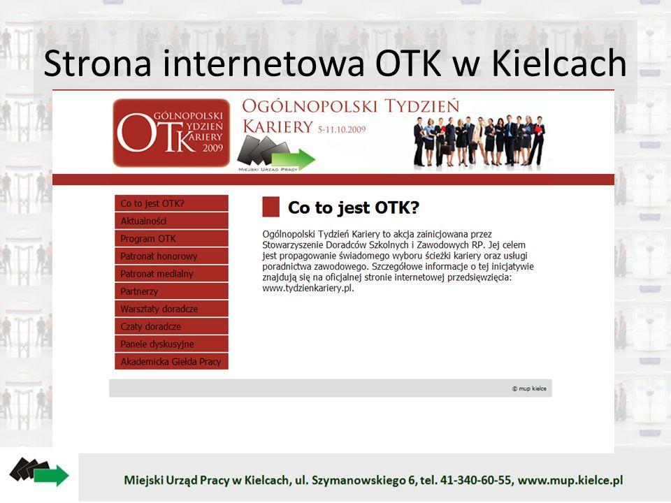 Strona internetowa OTK w Kielcach