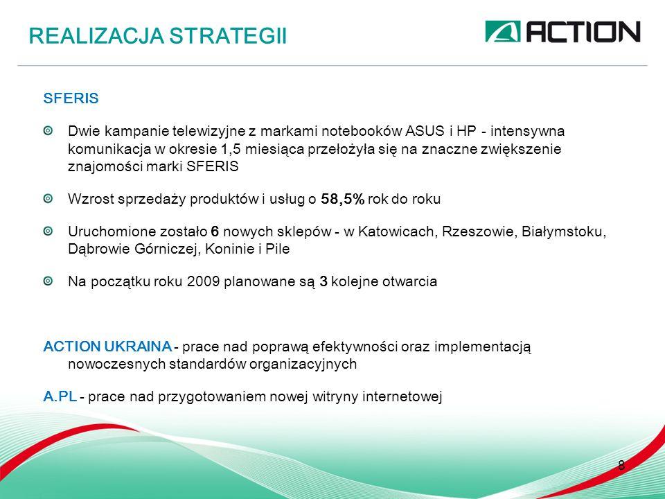 Optymalizacja kosztów działalności Weryfikacja planów inwestycyjnych Przegląd strategii sprzedażowej Zmiana polityki zabezpieczeń PLANOWANE DZIAŁANIA W DOBIE NADCHODZĄCEGO KRYZYSU 9