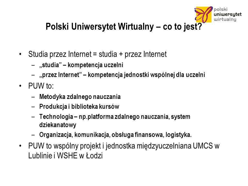 Polski Uniwersytet Wirtualny – co to jest.