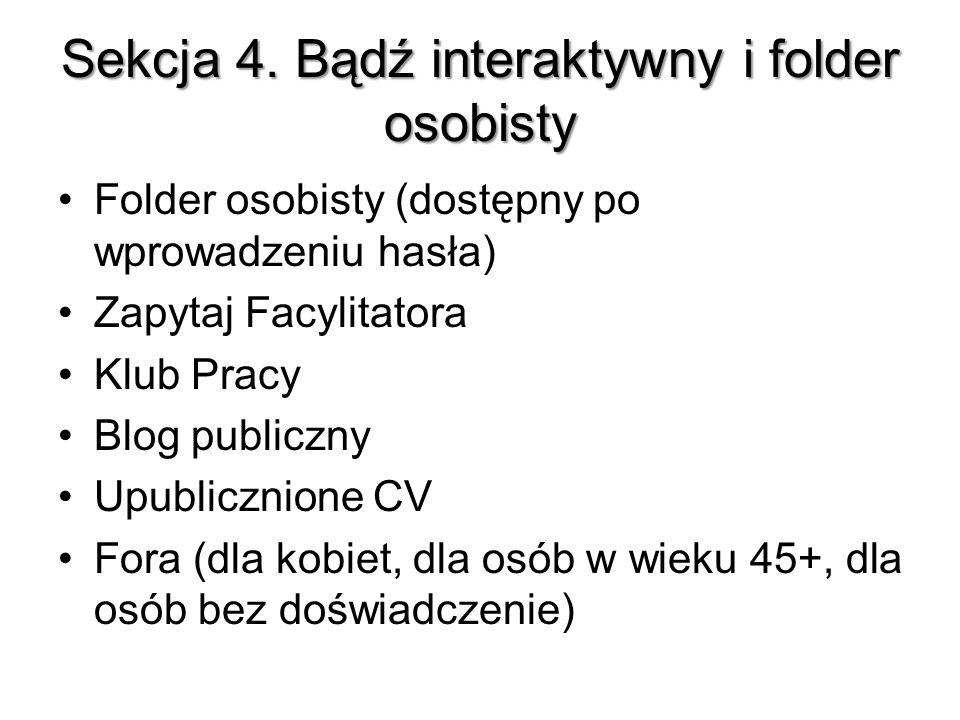 Sekcja 4.