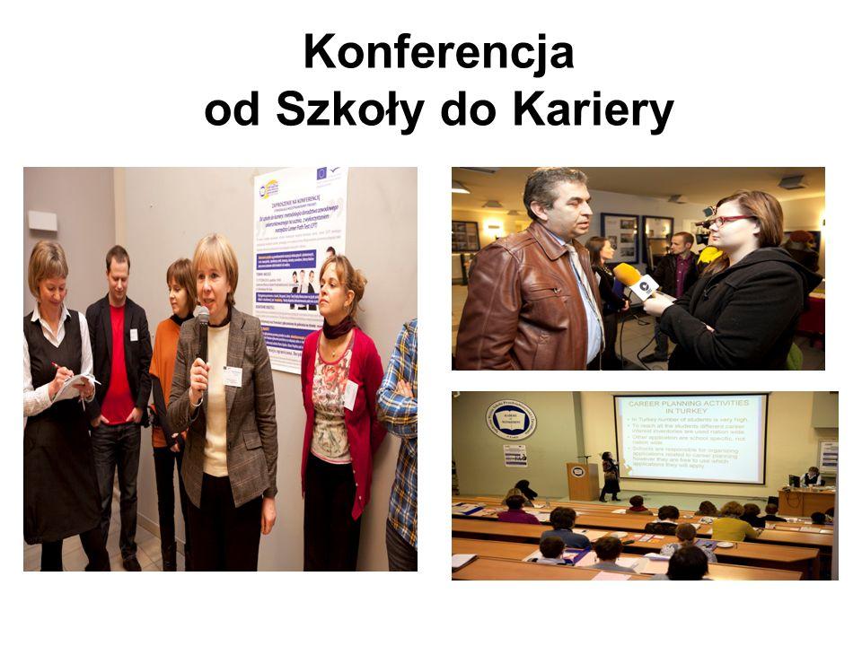 Konferencja od Szkoły do Kariery