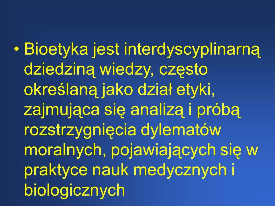 Bioetyka jako dyscyplina naukowa 1. Model deduktywistyczny 2.Model niededuktywistyczny
