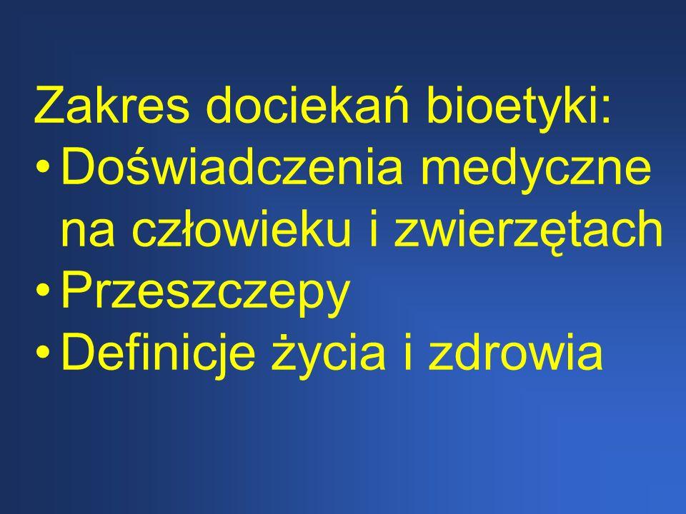 Bioetyka w zawodzie fizjoterapeuty 1.Bioetyka fizjoterapeuty jest częścią etyki ogólnej 2.