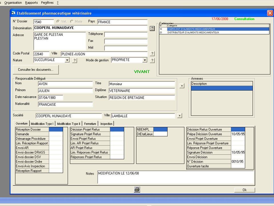 6 lipca 2008Licencjonowanie producentów pasz leczniczych19 Etapy procedury składania wniosku o przyznanie licencji 3.Badanie administracyjne i techniczne wniosku Badanie techniczne dotyczy zgodności pomieszczeń i sprzętu w odniesieniu do GMP Przeprowadzane przez inspektora weterynarii Możliwy wniosek o dostarczenie dodatkowych informacji w ograniczonym okresie czasu Uprawnienia do kontroli zakładu (ustalony czas do 120 dni) Raport z kontroli wraz z wnioskami o zachowaniu zgodności Zarządzanie wnioskami: Licencjonowanie