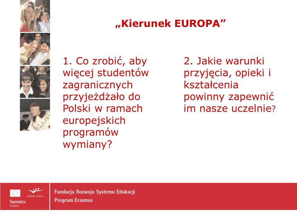 Kierunek EUROPA 1.