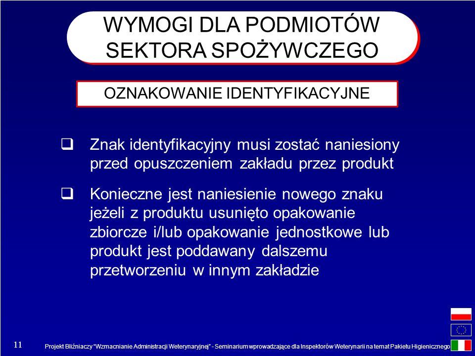 Projekt Bliźniaczy Wzmacnianie Administracji Weterynaryjnej - Seminarium wprowadzające dla Inspektorów Weterynarii na temat Pakietu Higienicznego 11 O