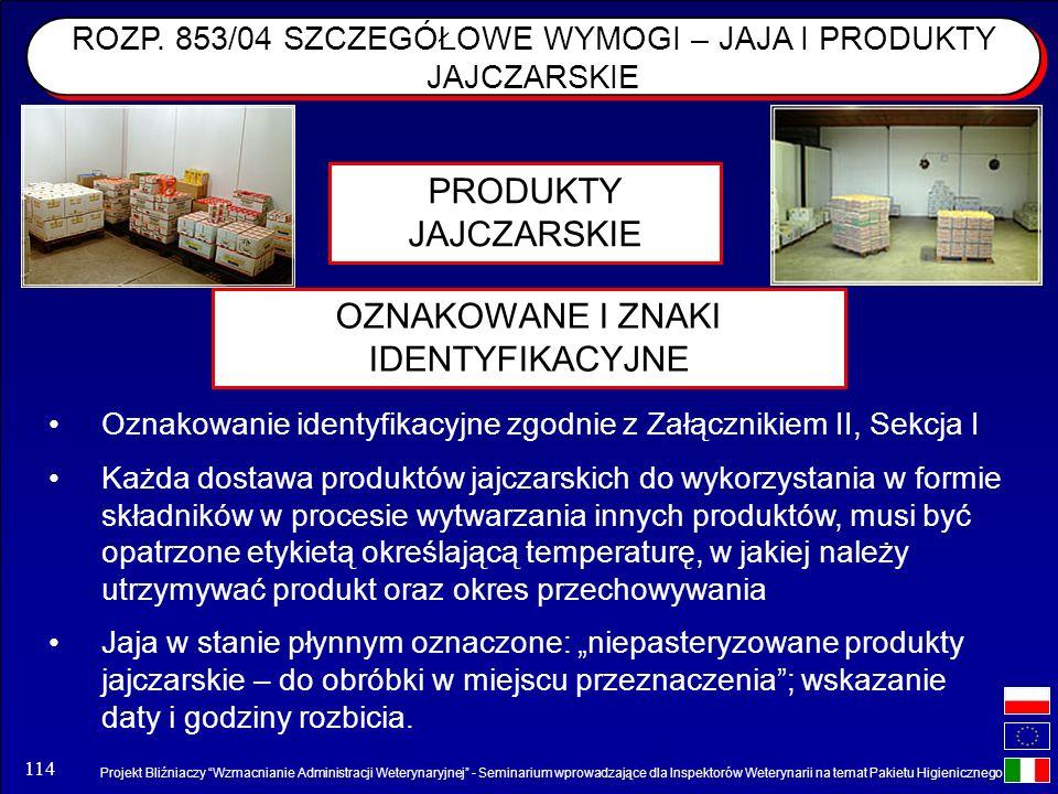 Projekt Bliźniaczy Wzmacnianie Administracji Weterynaryjnej - Seminarium wprowadzające dla Inspektorów Weterynarii na temat Pakietu Higienicznego 114