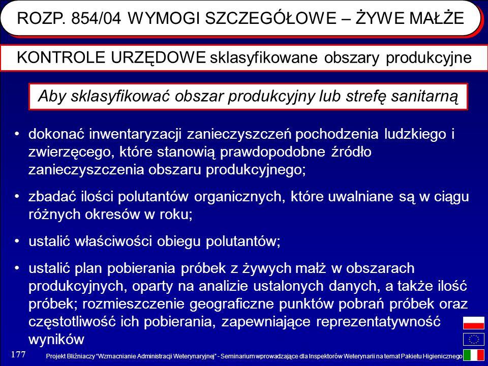 Projekt Bliźniaczy Wzmacnianie Administracji Weterynaryjnej - Seminarium wprowadzające dla Inspektorów Weterynarii na temat Pakietu Higienicznego 177