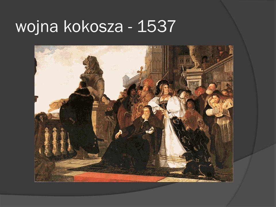 wojna kokosza - 1537