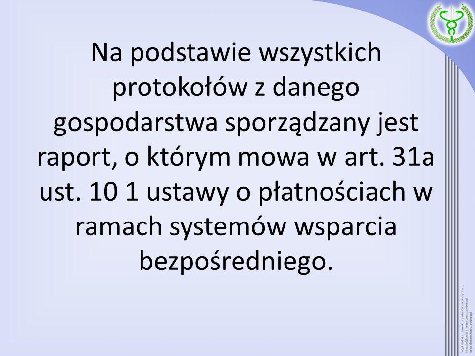 Przedmiotowy raport / protokół osoba upoważniona przez PLW przed przeprowadzeniem kontroli w danym gospodarstwie / danej siedzibie stada, generuje z przeglądarki internetowej IW-SIRZ (https://giw.doplaty.gov.pl).https://giw.doplaty.gov.pl