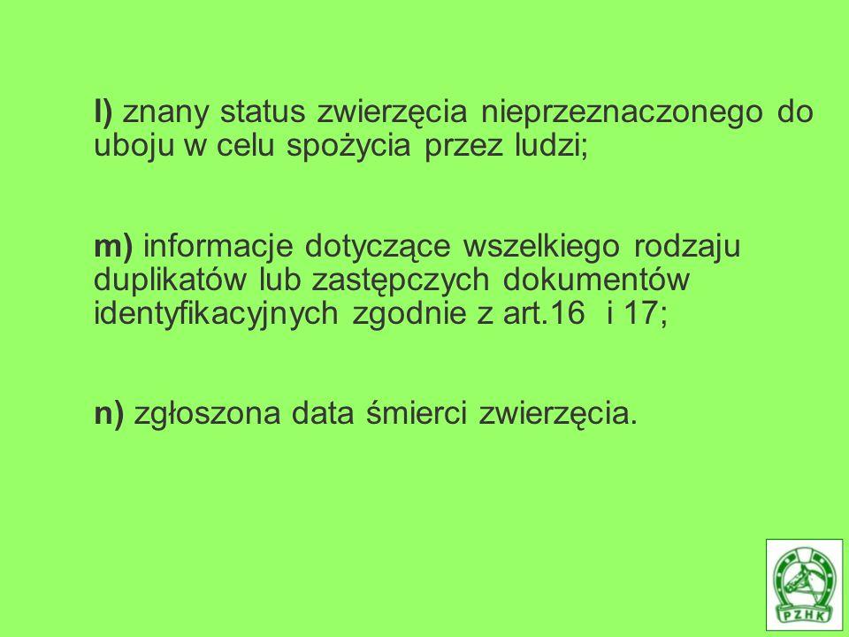 2.Instytucja wydająca przechowuje informacje określone w ust.