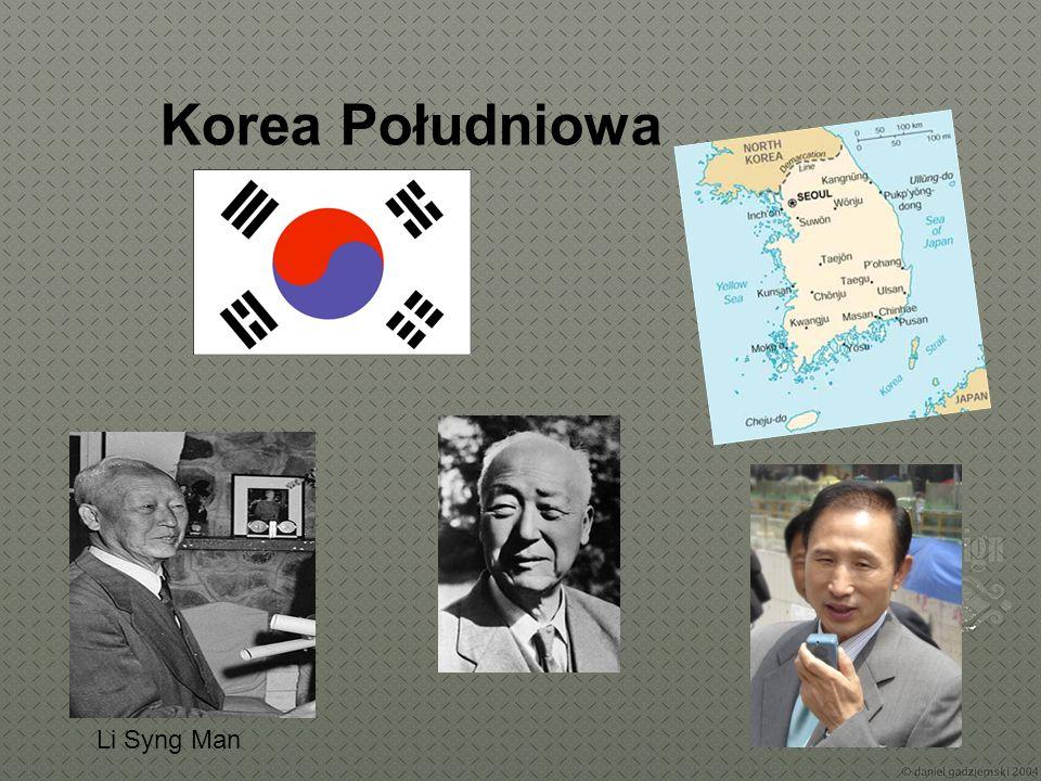 Korea Południowa Li Syng Man