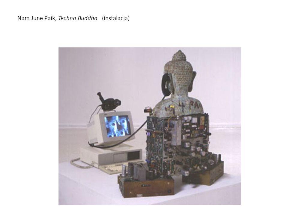 Nam June Paik, Techno Buddha (instalacja)