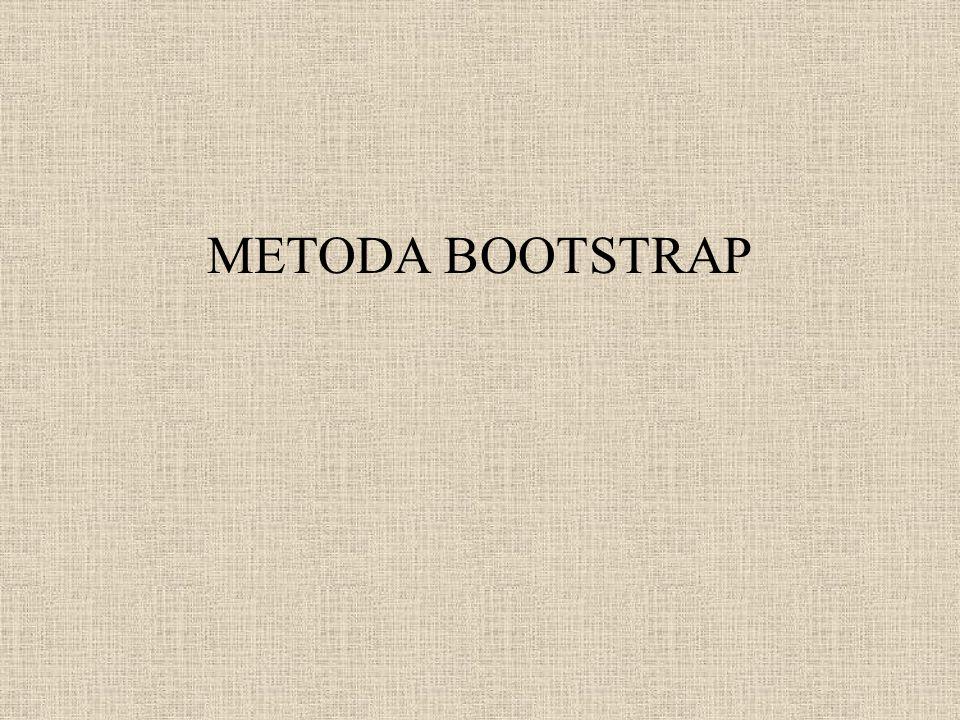 METODA BOOTSTRAP