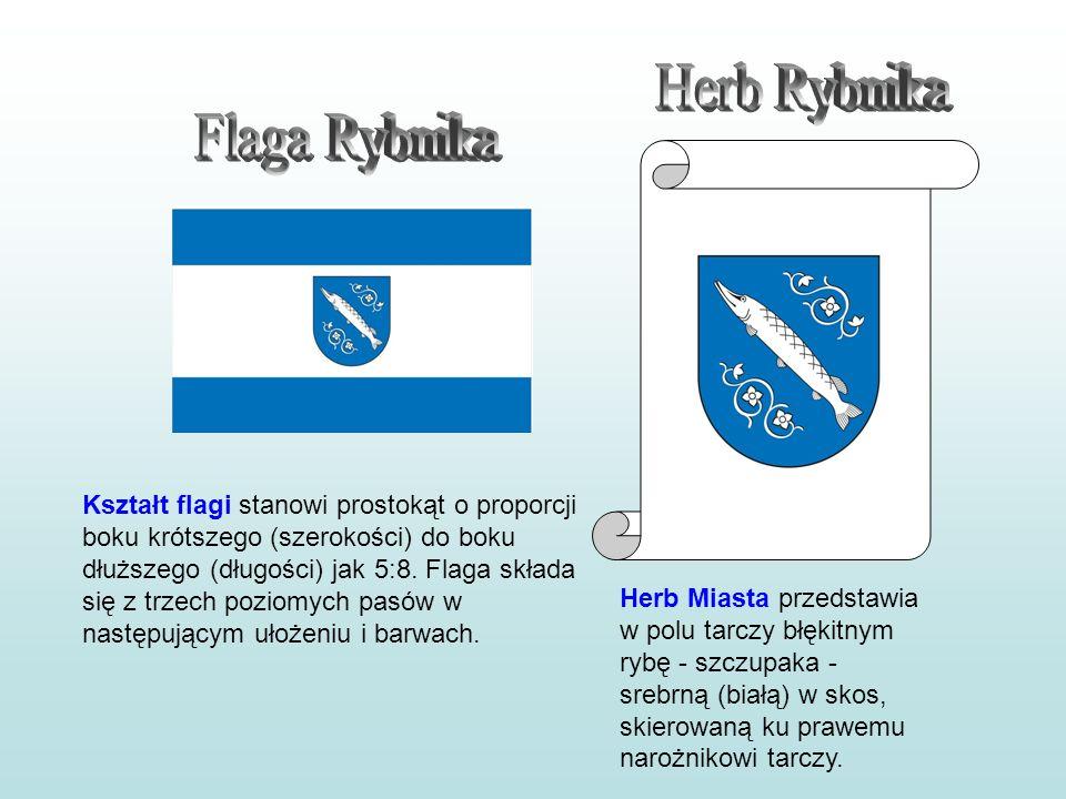 Kształt flagi stanowi prostokąt o proporcji boku krótszego (szerokości) do boku dłuższego (długości) jak 5:8. Flaga składa się z trzech poziomych pasó