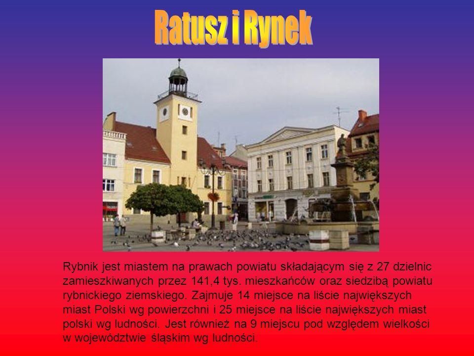 Rybnik jest miastem na prawach powiatu składającym się z 27 dzielnic zamieszkiwanych przez 141,4 tys. mieszkańców oraz siedzibą powiatu rybnickiego zi