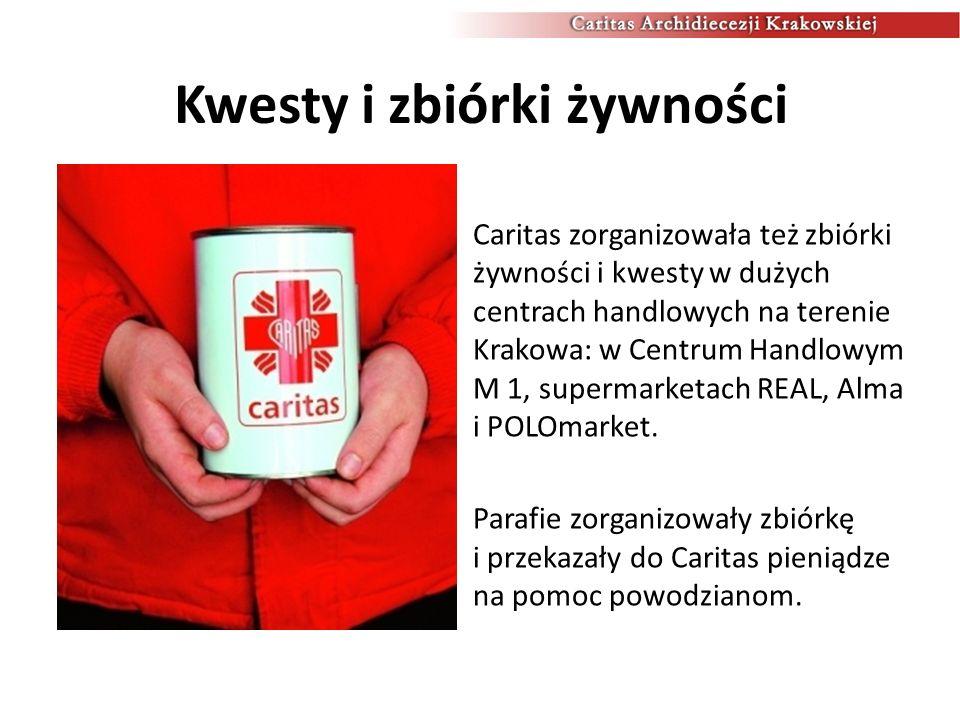 160 transportów z pomocą Pierwszy transport z pomocą do Łapanowa wyjechał już 18 maja.