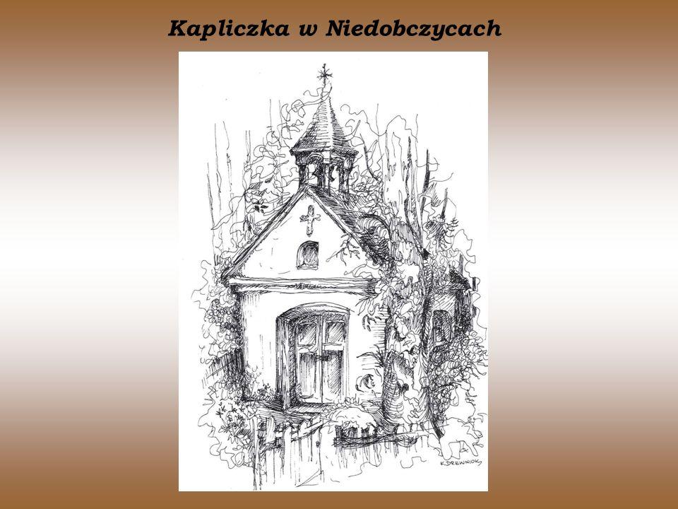 Kapliczka w Niedobczycach