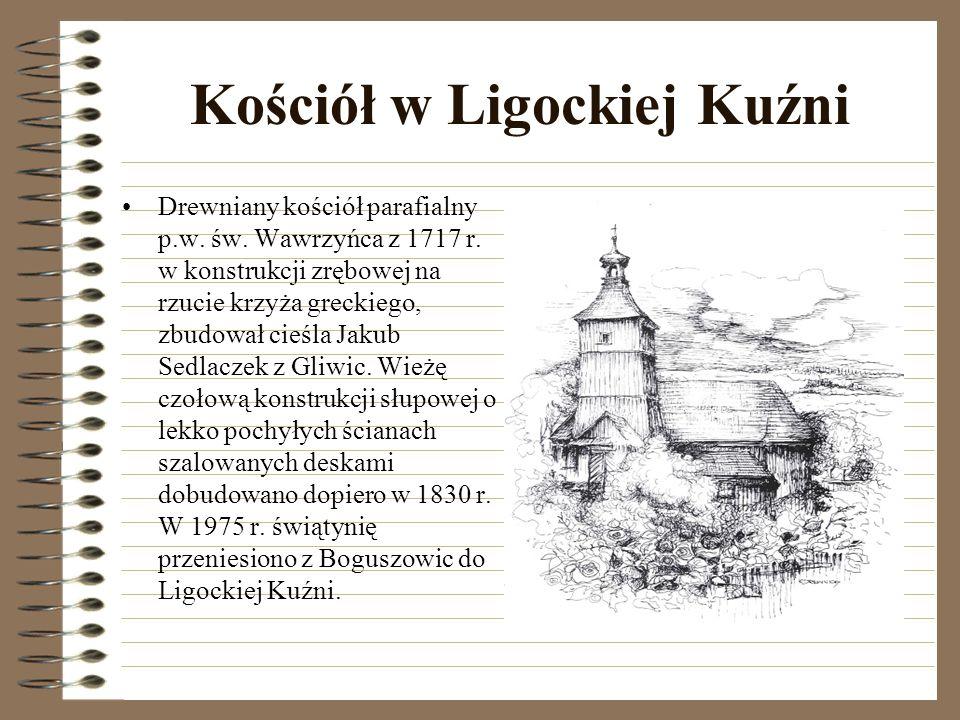 Kościół w Palowicach Drewniany kościół parafialny p.w.