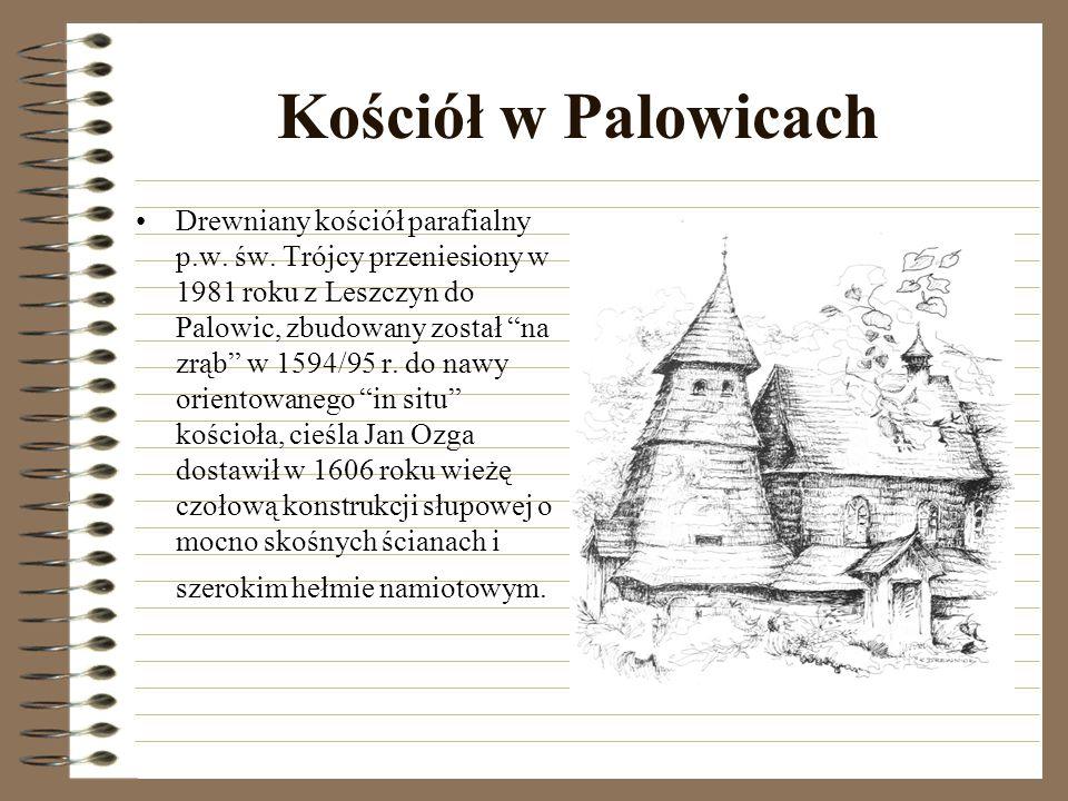 Kościół w Wielopolu Drewniany kościół parafialny p.w.