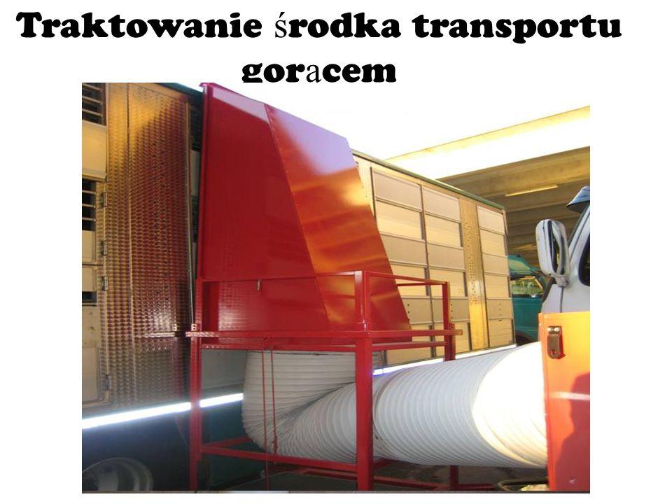 Traktowanie ś rodka transportu gor ą cem