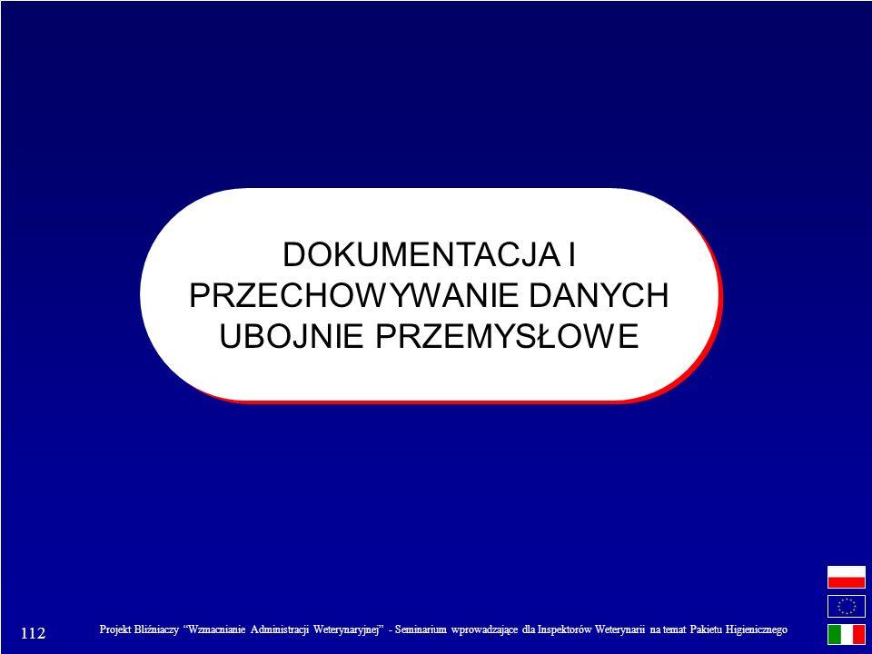 112 Projekt Bliźniaczy Wzmacnianie Administracji Weterynaryjnej - Seminarium wprowadzające dla Inspektorów Weterynarii na temat Pakietu Higienicznego
