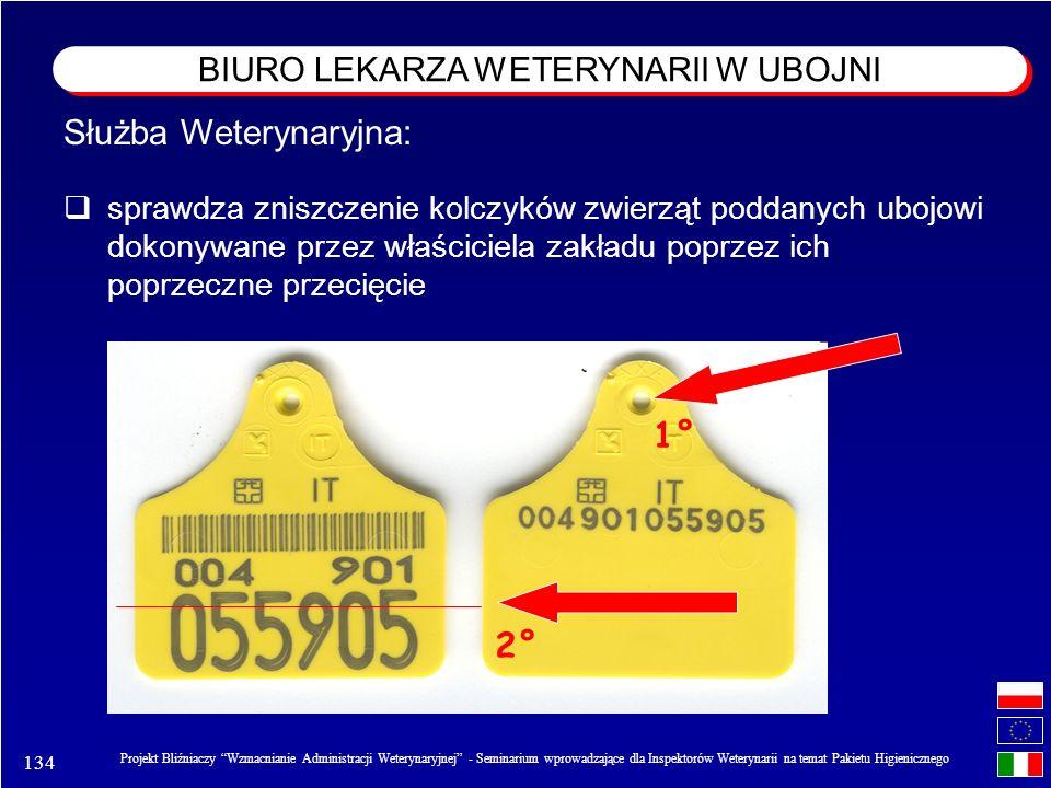 134 Projekt Bliźniaczy Wzmacnianie Administracji Weterynaryjnej - Seminarium wprowadzające dla Inspektorów Weterynarii na temat Pakietu Higienicznego