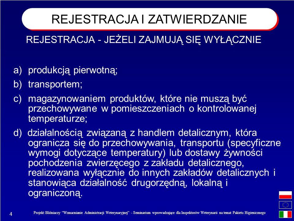 15 Projekt Bliźniaczy Wzmacnianie Administracji Weterynaryjnej - Seminarium wprowadzające dla Inspektorów Weterynarii na temat Pakietu Higienicznego Okresowe udokumentowane kontrole Szczegółowe kontrole uzupełniające kontrole tradycyjne leżące w kompetencji urzędowego lekarza weterynarii sprawującego nadzór nad zakładem (spełnienie wymogów strukturalnych, higieniczno- funkcjonalnych, autokontroli) ORGANIZACJA URZĘDOWYCH KONTROLI Stały nadzór weterynaryjny oraz inspekcje w zakładach