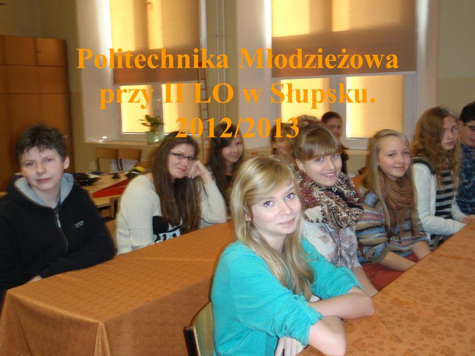Wykłady w ramach PM przy II LO w Słupsku.3.