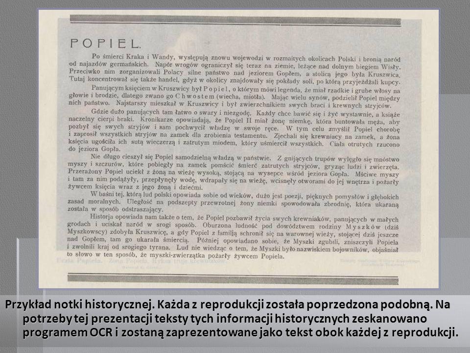 Początek notki historycznej: Święty Kazimierz Królewicz Polski.