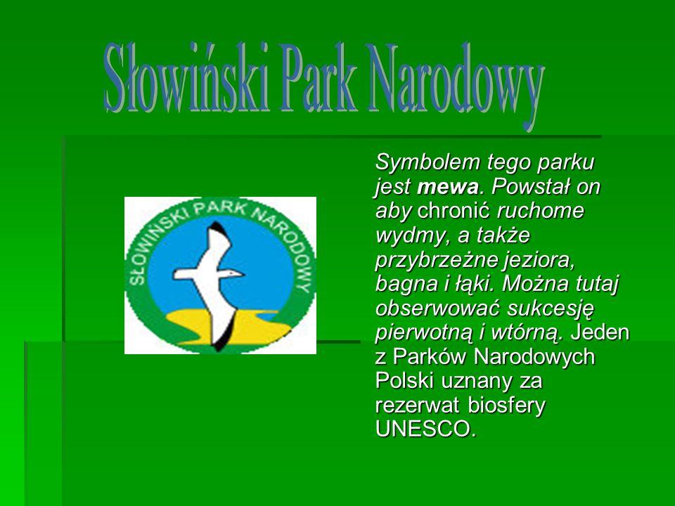 Symbolem tego parku jest mewa. Powstał on aby chronić ruchome wydmy, a także przybrzeżne jeziora, bagna i łąki. Można tutaj obserwować sukcesję pierwo