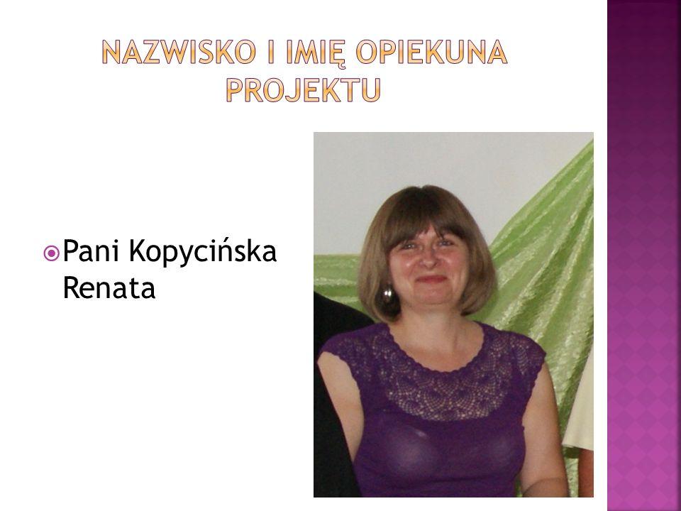 Pani Kopycińska Renata