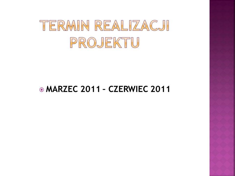 MARZEC 2011 – CZERWIEC 2011