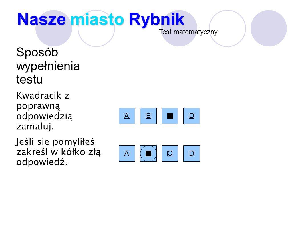 Rybnik, miasto w woj.Śląskim, ma powierzchnię 148,36 km².