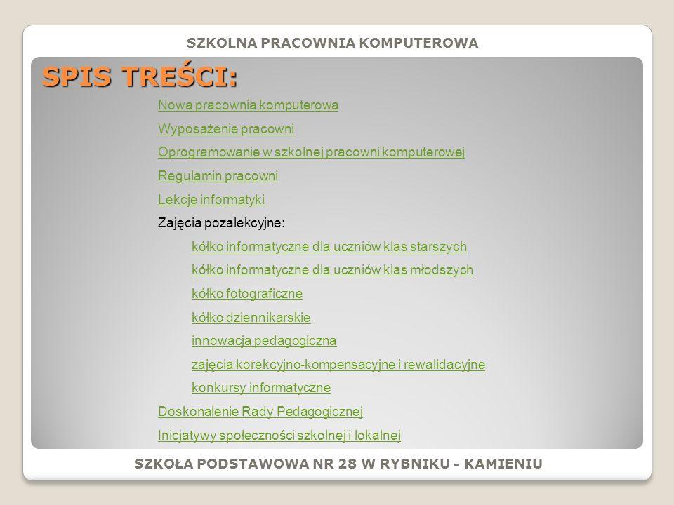 SZKOŁA PODSTAWOWA NR 28 W RYBNIKU - KAMIENIU.