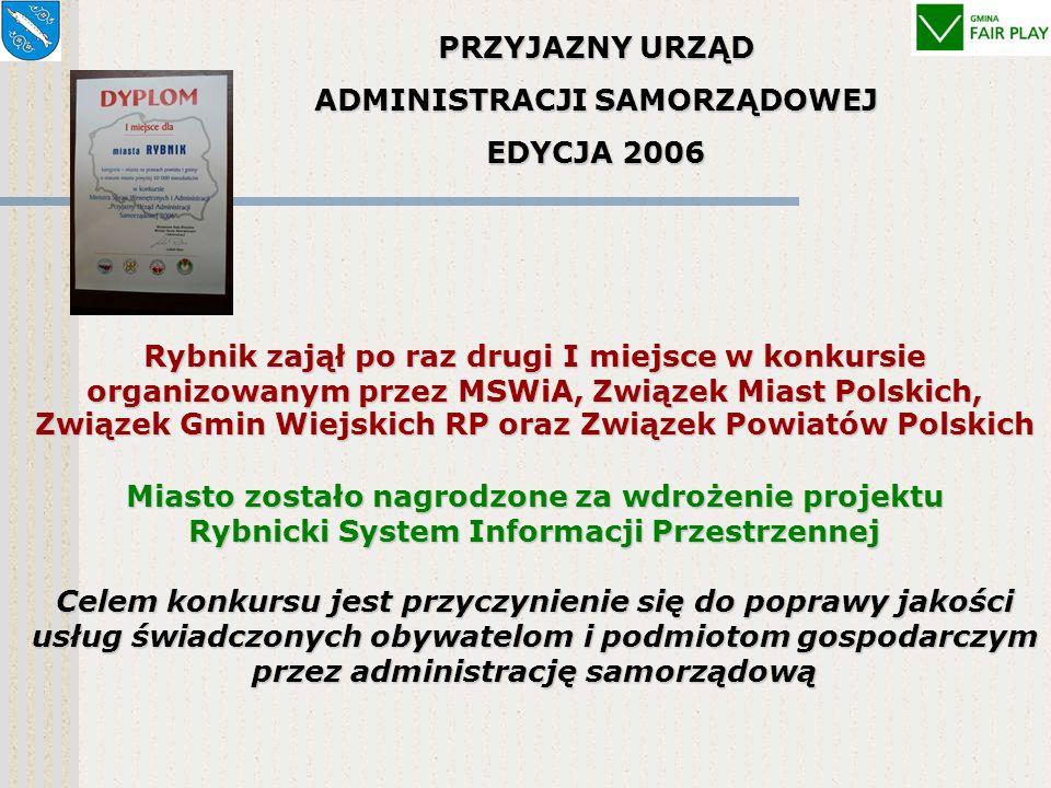 Najtańszy urząd - ranking przedstawiony w dwutygodniku samorządowym Wspólnota - czerwiec 2006 r. Najniższe wydatki bieżące na administrację w przelicz