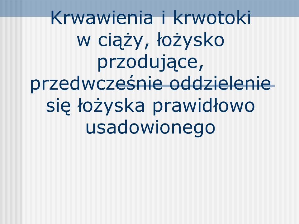 Zgony matek w Polsce 1991- 2000 Położnicze (462) 10,5 na 100 tys żywych urodzeń krwotoki3,1 krwotoki3,1 zakażenia 2,5 zakażenia 2,5 zatory2,0 zatory2,0 gestozy1,5 gestozy1,5 pośrednie1,4 pośrednie1,4 Niepołożnicze (218) 4,9 na 100 tys żywych urodzeń Troszyński M.