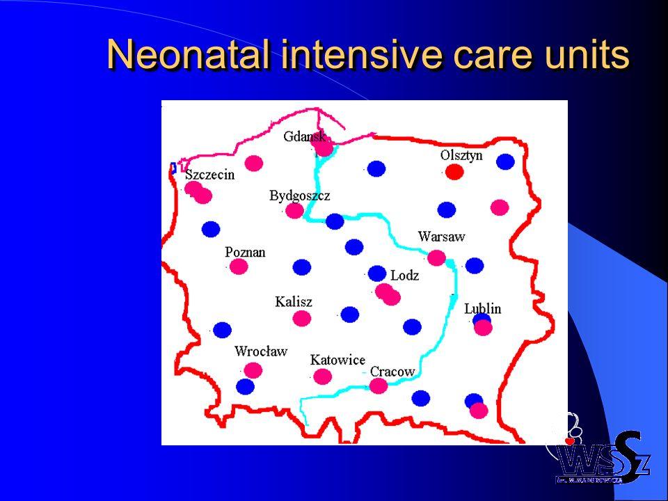 Śmiertelność noworodków w ZZO 10-50% co stanowi 20% ogólnej umieralności i jest w 50-70% przyczyną zgonów wcześniaków.