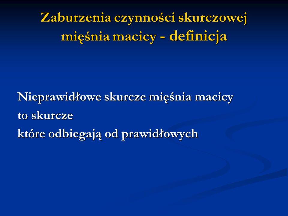 2) Ocena sytuacji położniczej i przebiegu porodu Szybkie opróżnienie macicy (zabieg kleszczowy, próżnociąg) Szybkie opróżnienie macicy (zabieg kleszczowy, próżnociąg) Nadmierne rozciągnięcie macicy: ciąża bliźniacza, wielowodzie, duży płodu Nadmierne rozciągnięcie macicy: ciąża bliźniacza, wielowodzie, duży płodu Zmęczenie macicy; niewspółmierność porodowa, przedłużony poród Zmęczenie macicy; niewspółmierność porodowa, przedłużony poród Wiotka macica: po długotrwałym znieczuleniu, rozpoczęty poród przedwczesny z tokolizą Wiotka macica: po długotrwałym znieczuleniu, rozpoczęty poród przedwczesny z tokolizą Osłabienie czynności skurczowej mięśnia macicy; pierwotnie lub wtórnie słaba czynność, długotrwały dożylny wlew z oksytocyną Osłabienie czynności skurczowej mięśnia macicy; pierwotnie lub wtórnie słaba czynność, długotrwały dożylny wlew z oksytocyną Guzy macicy: macica mieśniakowata Guzy macicy: macica mieśniakowata Wady macicy: macica łukowata (uterus arcuatus), przegroda macicy (uterus septus) Wady macicy: macica łukowata (uterus arcuatus), przegroda macicy (uterus septus)