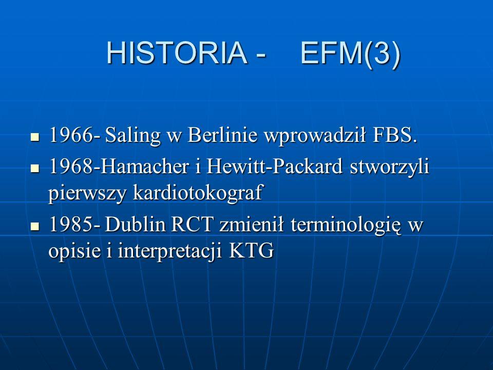 HISTORIA - EFM(3) 1966- Saling w Berlinie wprowadził FBS. 1966- Saling w Berlinie wprowadził FBS. 1968-Hamacher i Hewitt-Packard stworzyli pierwszy ka