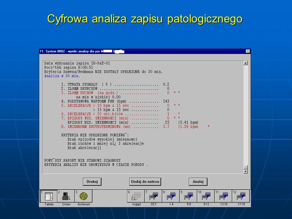 Cyfrowa analiza zapisu patologicznego